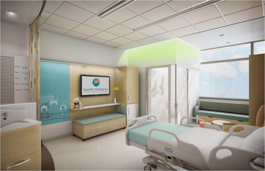 Top Ten Features: Building Hope Cancer Inpatient Unit
