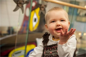 Today, Greta is a happy, healthy 21-month-old in remission.