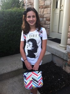 Olivia is currently 12 years old and one of the best performing students in her sixth grade class.