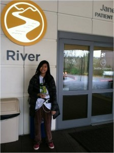 Julie Kobayashi, 12, traveled from Hawaii to Seattle Children's for her heart transplant.