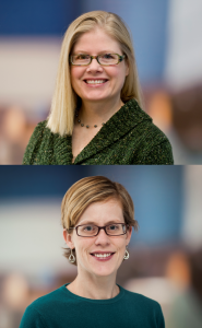 Dr. Megan Moreno (top) and Dr. Annika Hofstetter (bottom)