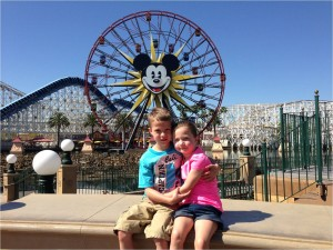 Molly's family celebrated the success of the drug Kalydeco by going to Disneyland.