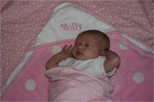 Baby Molly Hamilton.