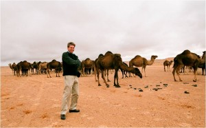 U.S. Ambassador Chris Stevens, in the field
