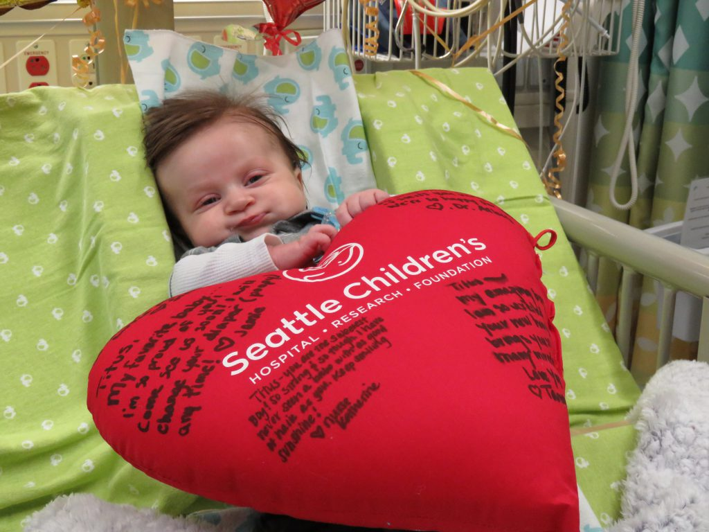 Baby Gets New Heart Just Before Turning 3 Months Old