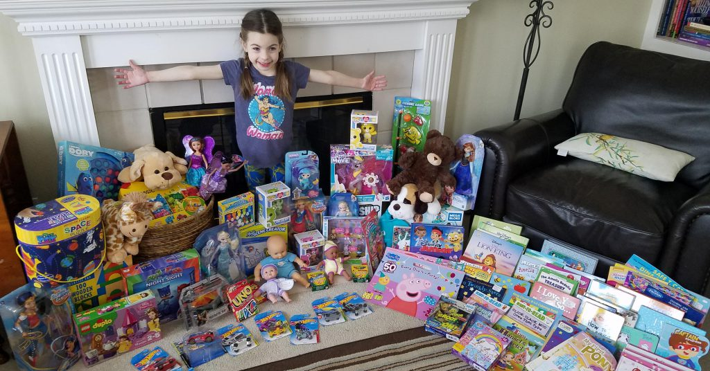 Lifesaving Experience Inspires Kindergartner To Donate Birthday Gifts